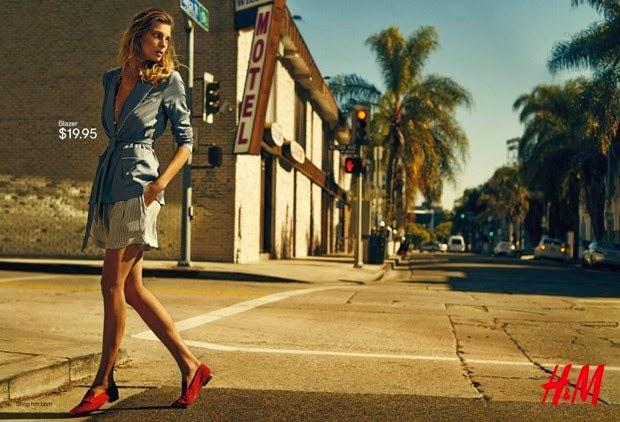 Daria Werbowy dla H&M / wiosna'15