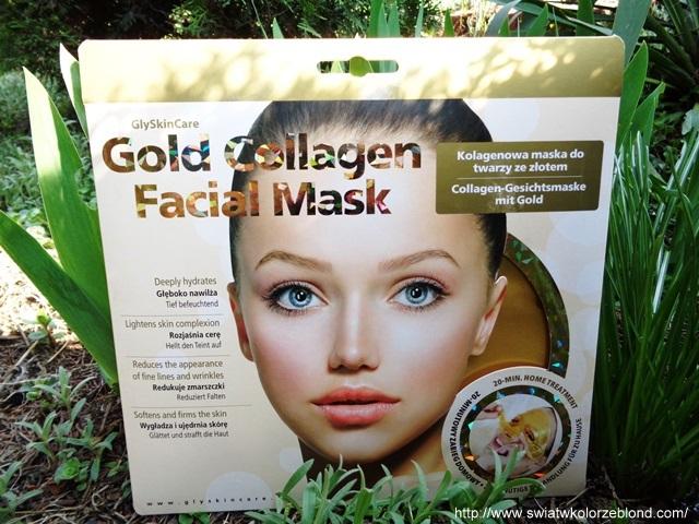 Kolagenowa maska na twarz ze złotem GlySkinCare