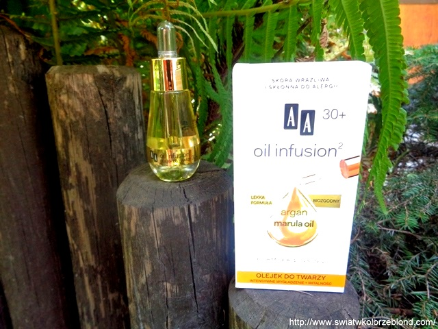 Olejek pielęgnacyjny AA Oil Infusion – opinia