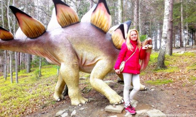 Tropem dinozaurów …   –  Dinopark w Szklarskiej Porębie