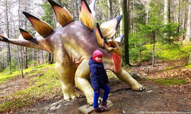 polecany dinopark dla dzieci