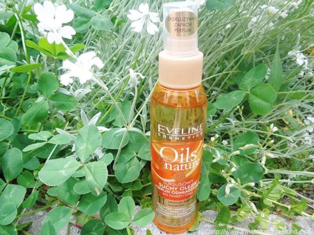 olejek z serum odmładzającym do twarzy i ciała marki Eveline, blog, opinia