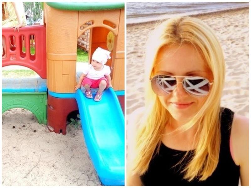 świat w kolorze blond dziecko