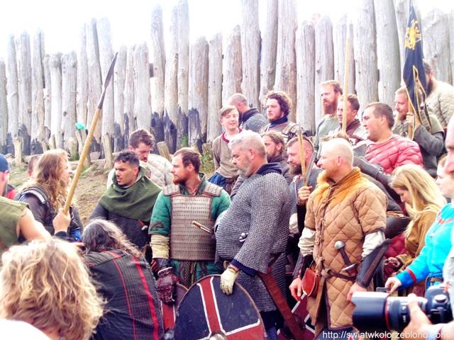 Festiwal Słowian i Wikingów wikingowie