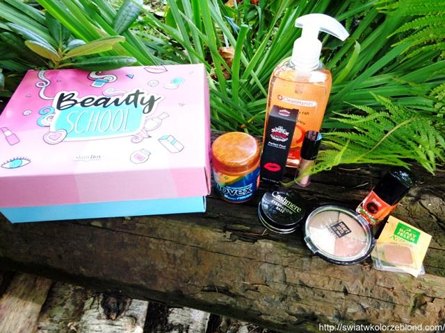 ShinyBox wrzesień opinie o kosmetykach