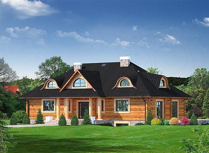 Domy z bali – pełnia natury