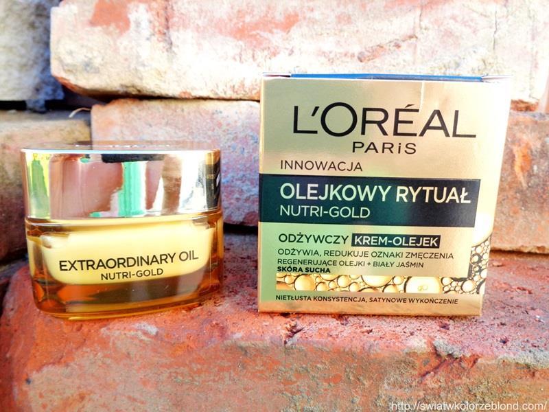 Loreal Nutri Gold odżywczy krem – opinia