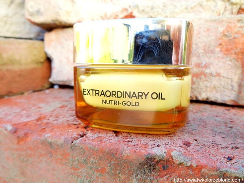 Loreal Nutri Gold olejkowy rytuał