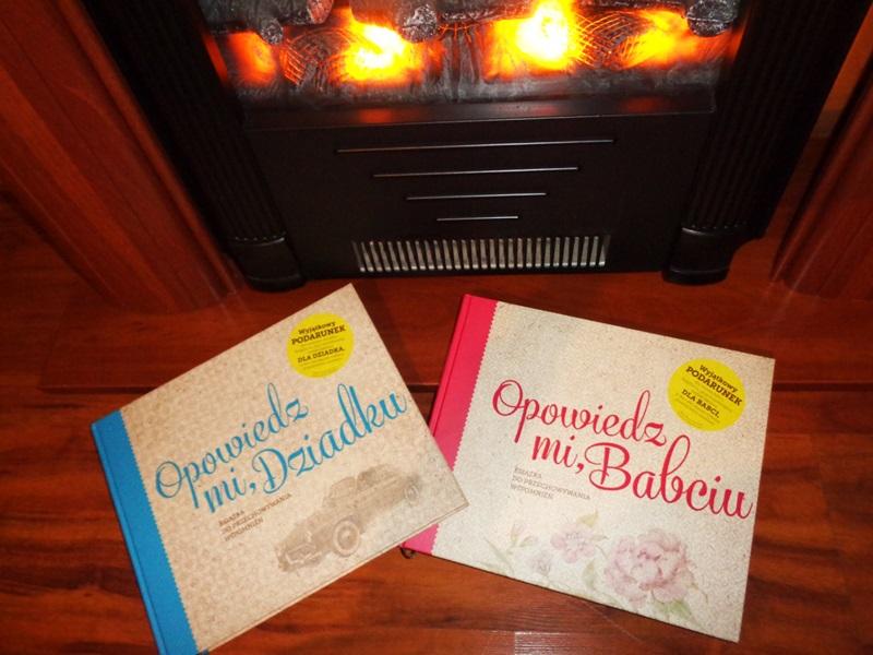 Prezent na Dzień Babci i Dziadka książka opowiedz mi dziadku