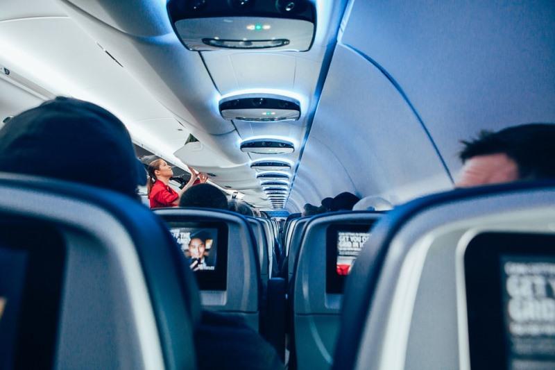 lot samolotem bilety lotnicze i limity bagażu