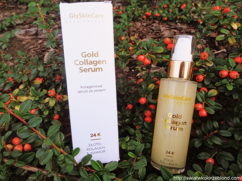 Kolagenowe serum ze złotem – opinia