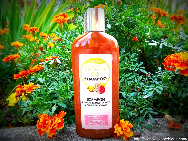 Szampon z organicznym olejem z opuncji figowej recenzja blog