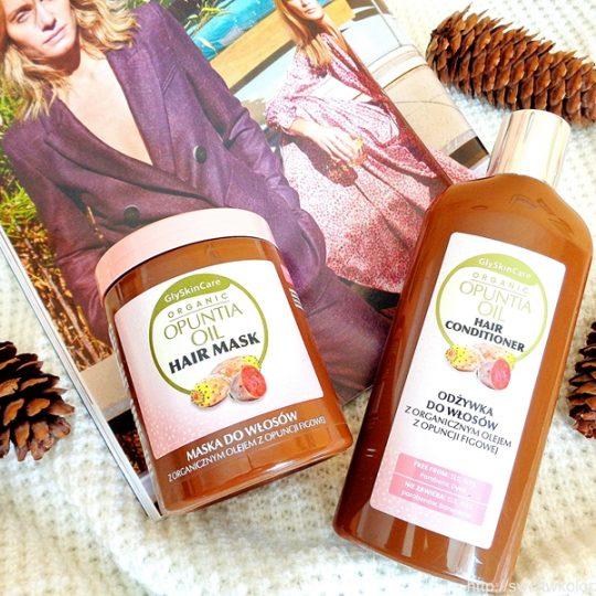 Maska i odżywka z organicznym olejem z opuncji figowej