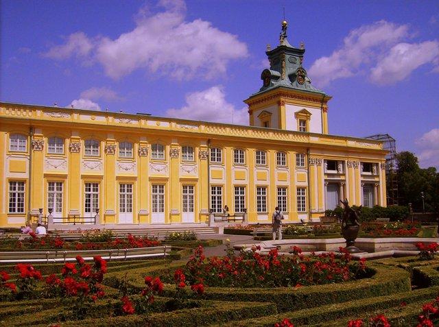 Z cyklu Piękno Polski –  Pałac w Wilanowie