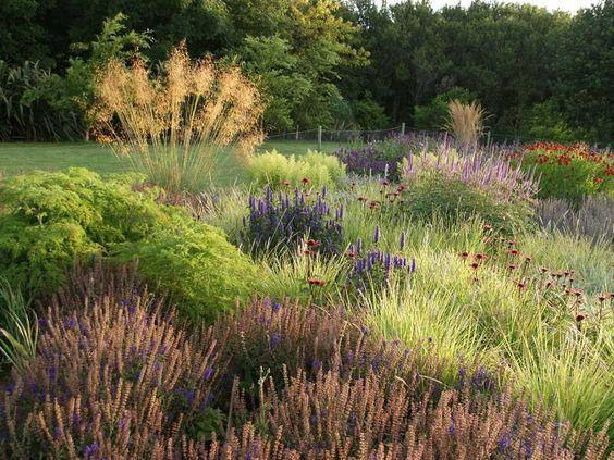 ogród naturalny jako część natury