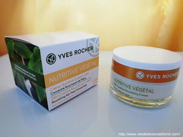 Krem odżywiający z Yves Rocher – opinia