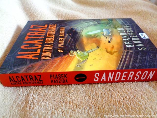 """""""Alcatraz kontra bibliotekarze. Piasek Raszida"""" Brandon Sanderson – recenzja"""