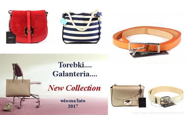 modne torebki i galanteria na wiosnę i lato 2017