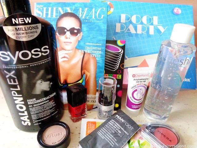 opinie o kosmetykach shinybox