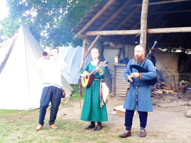 Festiwal Słowian i Wikingów tańce