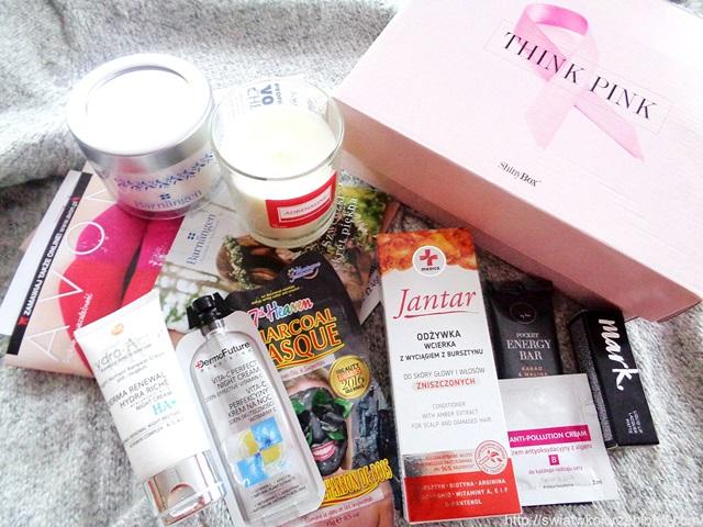 Box kosmetyczny THINK PINK