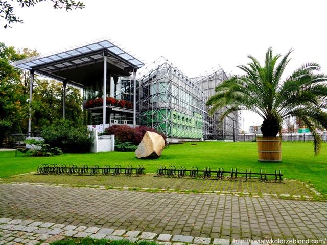 Palmiarnia w Gliwicach obiekt od zewnątrz
