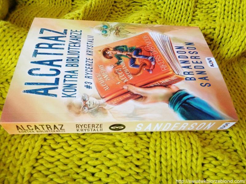 Alcatraz Rycerze Krystalii powieść