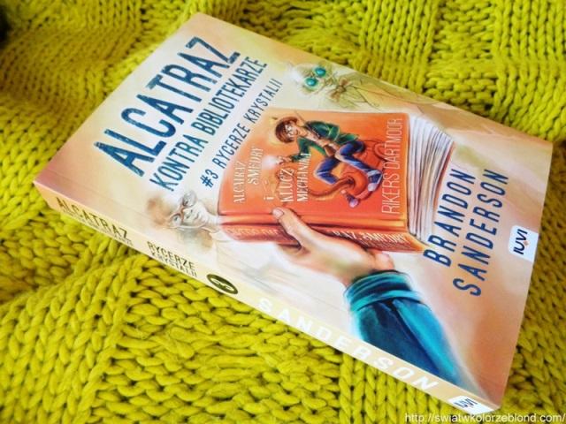 """"""" Alcatraz kontra Bibliotekarze. #3 Rycerze Krystalii """"  – recenzja"""