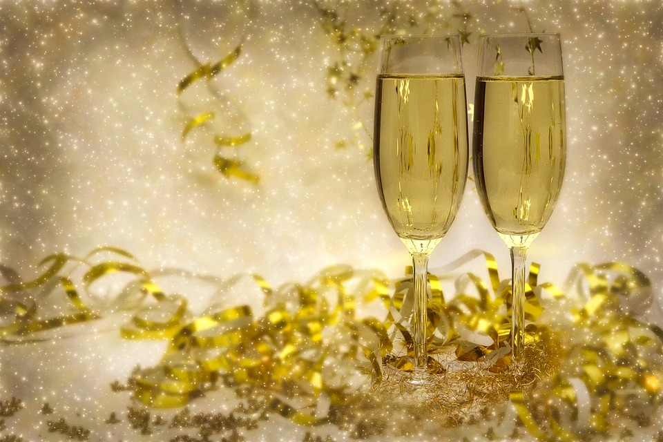 Dobry szampan na dobry Rok 2018