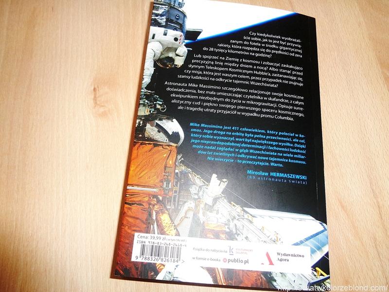 Spaceman książka o kosmosie recenzja blog