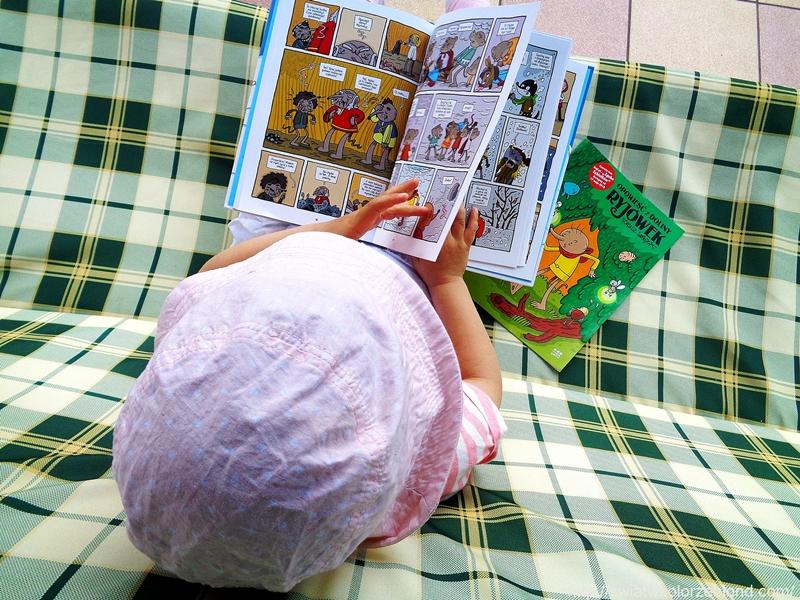 Zguba zębiełków komiks dla dzieci