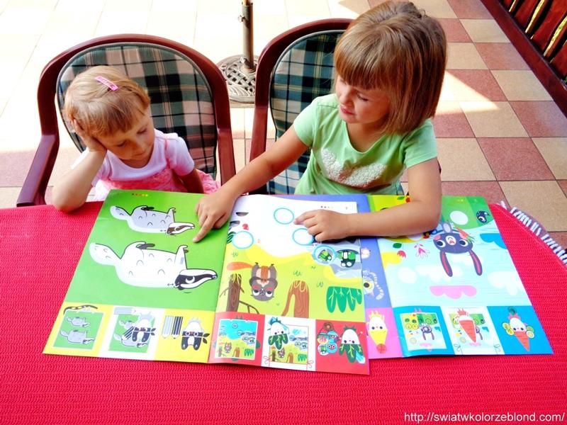 czasopisma dla dzieci zadania logiczne