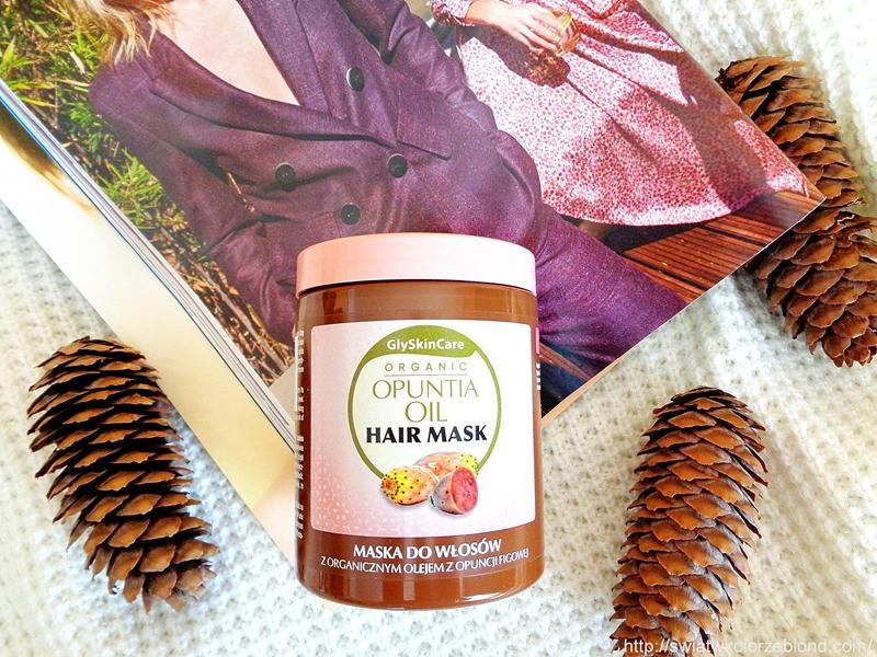 Maska i odżywka z organicznym olejem z opuncji figowej działanie