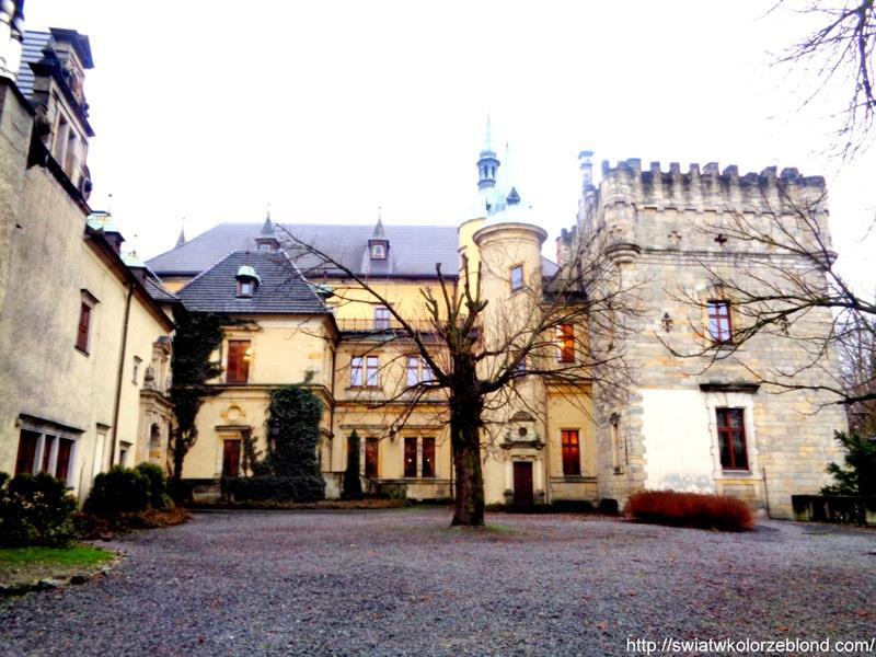 Zamek Kliczków widoki