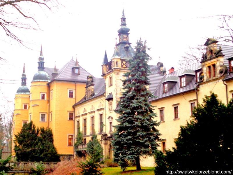 Zamek Kliczków piękno Polski