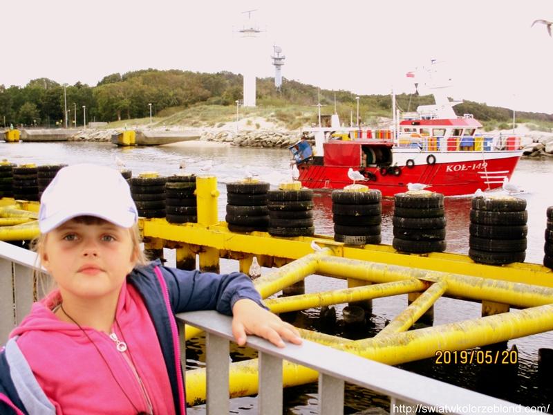 Port morski w Kołobrzegu dzieci 2019