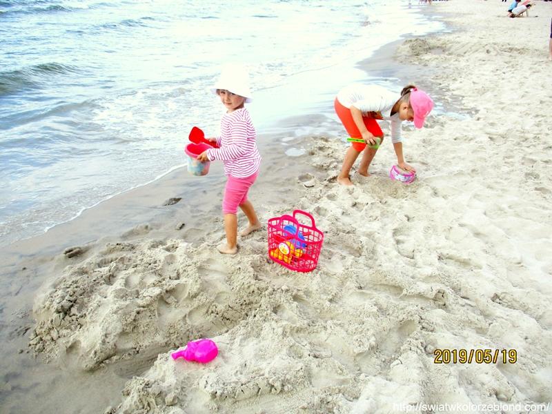 Trzęsacz zabawa na plazy