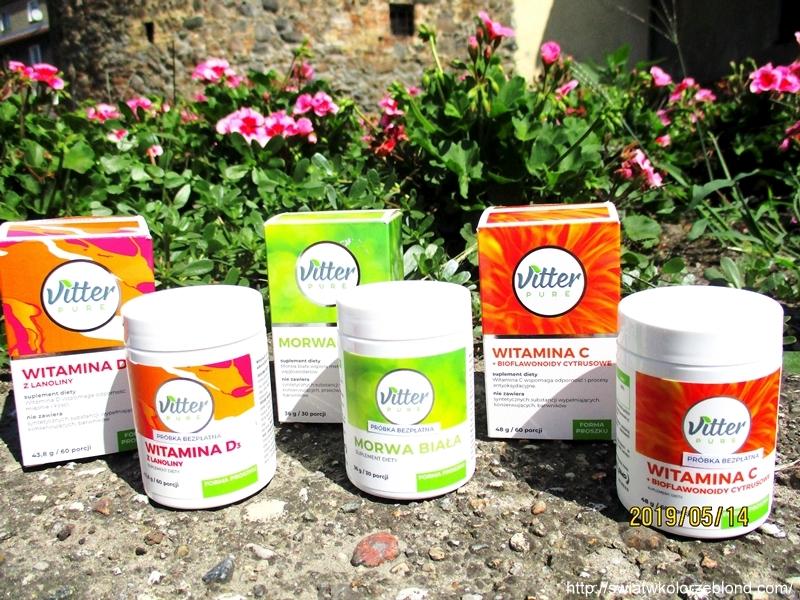 Suplementy diety w proszku Vitter Pure blog