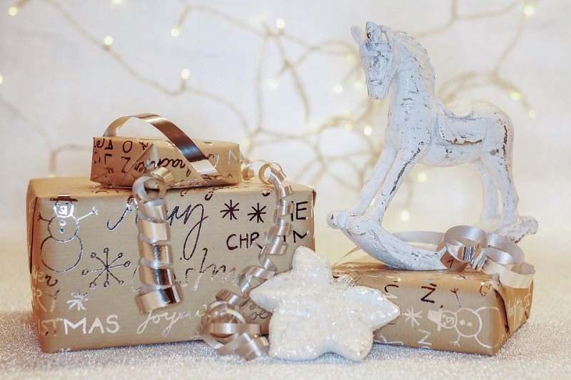 Kolory Bożego Narodzenia prezenty