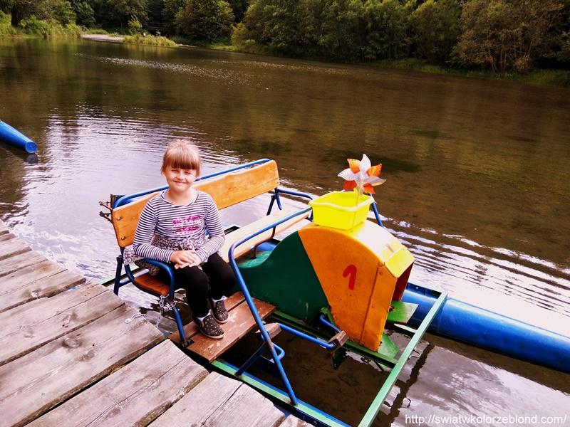 Atrakcje dla dzieci rowerki wodne