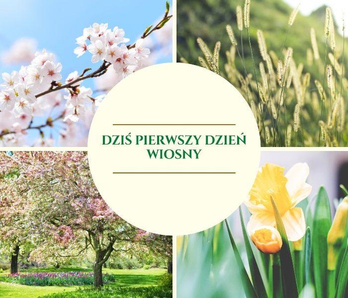 Pierwszy dzień wiosny już dziś !