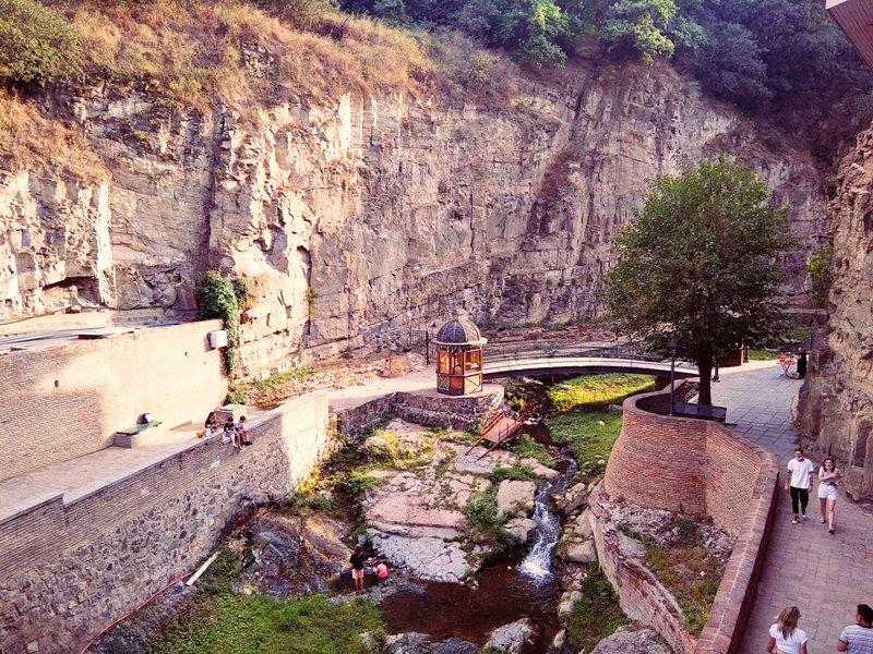 Tbilisi piekne widoki